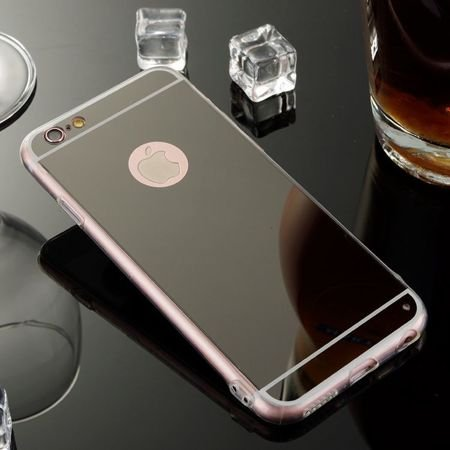 Slim Mirror Case Czarny | Etui dla Apple iPhone 6 Plus / 6S Plus