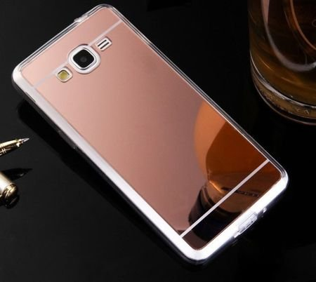 Slim Mirror Case Różowy | Etui dla Samsung Galaxy Grand Prime
