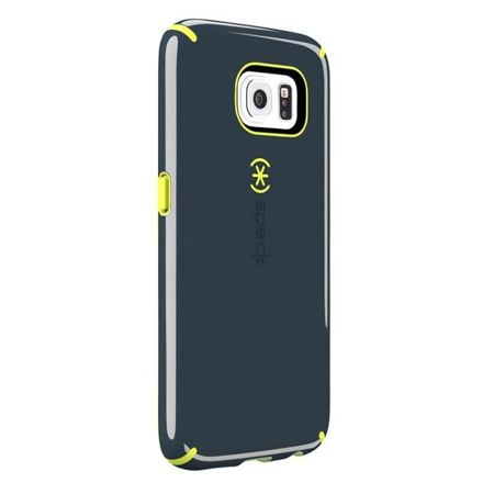 Speck CandyShell - Etui Samsung Galaxy S6 (Charcoal Grey/Anti-freeze Yellow)