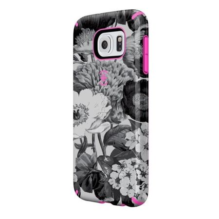 Speck CandyShell Inked - Etui Samsung Galaxy S6 (Vintage Bouquet Grey/Shocking Pink)