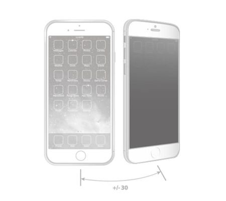 Szkło hartowane Moshi iVisor Glass Privacy IonGlass Apple iPhone 6 Czarne