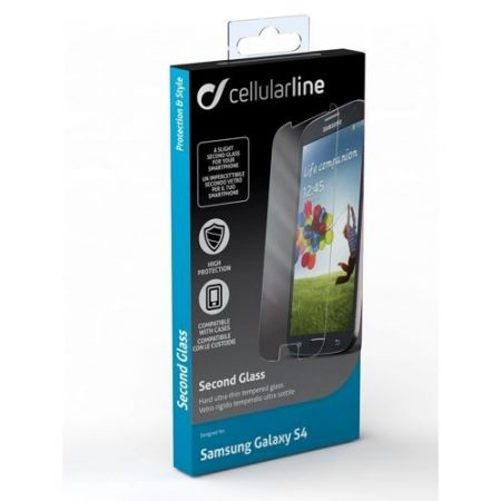 Szkło hartowane na ekran Cellular Line Second Glass do Samsung Galaxy S4