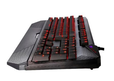 Tesoro Durandal Ultimate - Klawiatura mechaniczna LED (Cherry MX Blue)