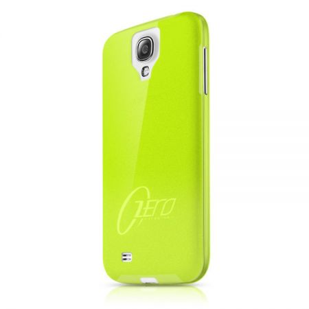 Ultracienka 0.3mm obudowa ItSkins ZERO 360 do Samsung Galaxy S4 (zielony)