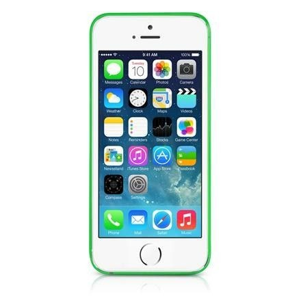 Ultracienka 0.3mm obudowa ItSkins ZERO 3600 do iPhone 5 / 5S / 5SE (zielony)