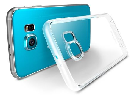 Zestaw Rearth - Obudowa Ringke Flex + 3  Folie ochronne Rearth Invisible Defender Samsung Galaxy S6 Edge
