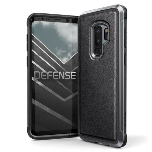 Aluminiowa obudowa X-Doria Defense Lux Samsung Galaxy S9 Plus Black Leather