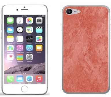 Apple iPhone 7 - etui na telefon - Kolekcja marmur - marble red - H26