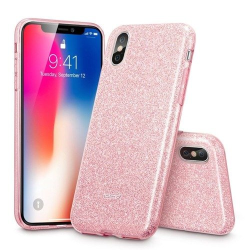 ESR Glitter Shine Rose Gold Apple iPhone X / 10