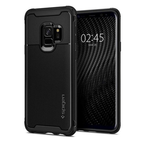 ETUI SAMSUNG GALAXY S9 - SPIGEN RUGGED ARMOR URBAN BLACK