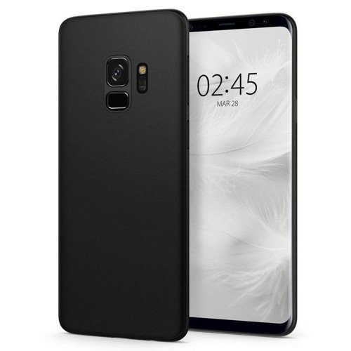 Etui Spigen Air Skin Black na Samsung Galaxy S9
