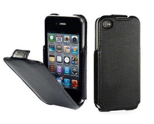 Etui Stilgut - Slim Case - czarne - iPhone 4 i 4S