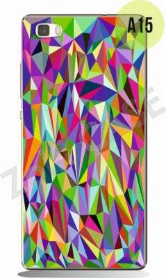 Etui Zolti UItra Slim Case - Huawei P8 Lite - Abstract - Wzór A15