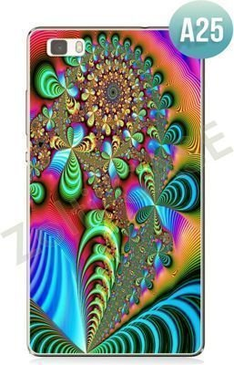 Etui Zolti UItra Slim Case - Huawei P8 Lite - Abstract - Wzór A25