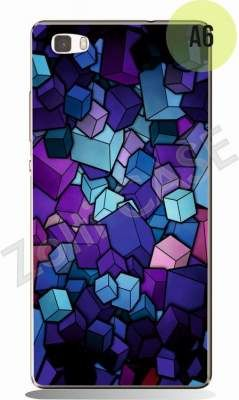 Etui Zolti UItra Slim Case - Huawei P8 Lite - Abstract - Wzór A6