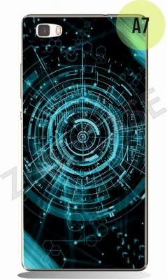 Etui Zolti UItra Slim Case - Huawei P8 Lite - Abstract - Wzór A7