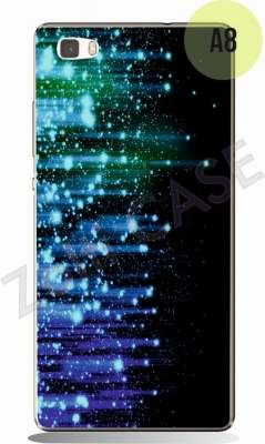 Etui Zolti UItra Slim Case  - Huawei P8 Lite - Abstract - Wzór A8
