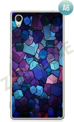 Etui Zolti Ultra Slim Case - Sony Xperia M4 Aqua - Abstract - Wzór A6