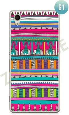 Etui Zolti Ultra Slim Case - Sony Xperia M4 Aqua - Girls Stuff - Wzór G1
