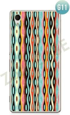 Etui Zolti Ultra Slim Case - Sony Xperia M4 Aqua - Girls Stuff - Wzór G11
