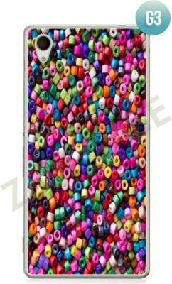 Etui Zolti Ultra Slim Case - Sony Xperia M4 Aqua - Girls Stuff - Wzór G3
