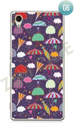 Etui Zolti Ultra Slim Case - Sony Xperia M4 Aqua - Girls Stuff - Wzór G6