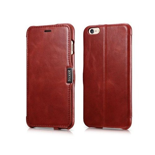 Etui iCarer Side Open Vintage Red | Apple iPhone 6 Plus / 6S Plus