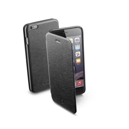 Etui z klapką Cellular Line BOOK ESSENTIAL do iPhone 6 Plus/6S Plus, czarne