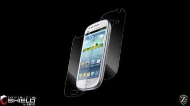 Folia invisible SHIELD na ekran i tył - Samsung Galaxy S3 mini i8190