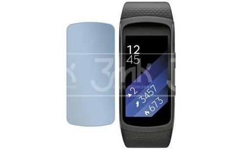 Folia ochronna 3MK Curved ARC Samsung Gear Fit 2