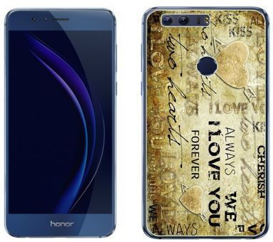 Huawei Honor 8 - etui na telefon - Kolekcja boho - love you forever - J83