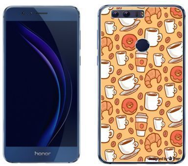 Huawei Honor 8 - etui na telefon - Kolekcja boho - lunch time - J74