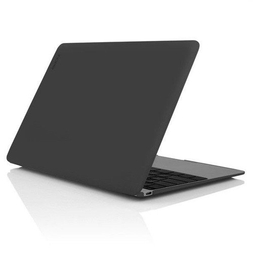 Obudowa Incipio Feather Cover - IM-295-BLK - Apple MacBook 12 Retina - Czarno-przezroczysta