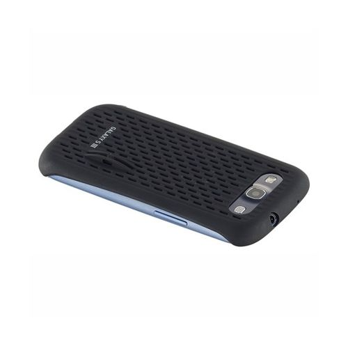 Obudowa Made for Samsung cool vent - czarna -  Samsung Galaxy S3 i9300