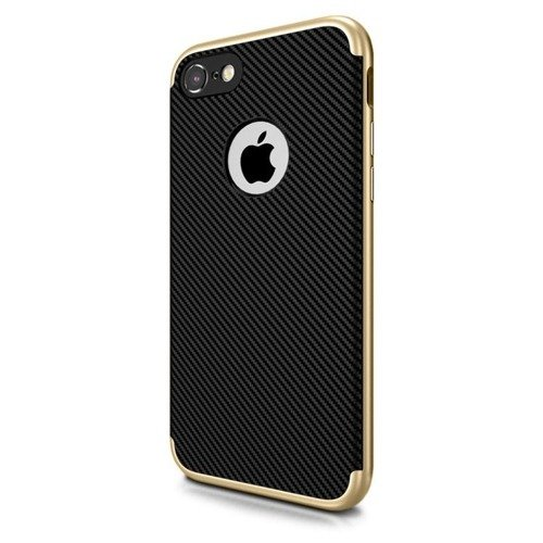 Obudowa UCASE Carbon Frame Apple iPhone 7 Złoty