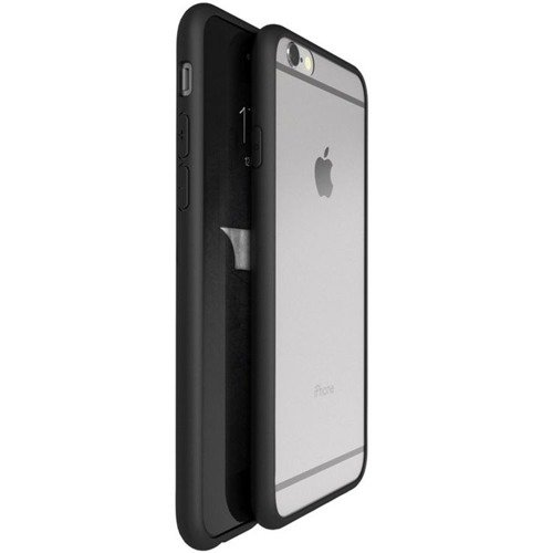 Obudowa UCASE Clear Hybrid Apple iPhone 6 / 6S 4.7 Czarny