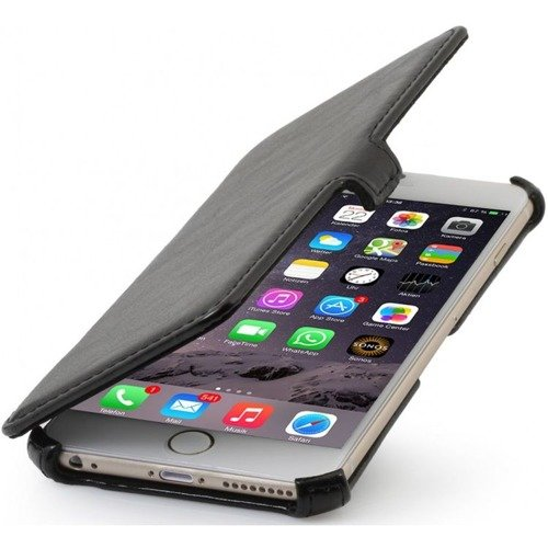 Oryginalne etui Stilgut UltraSlim V2 Book Case Apple iPhone 6 / 6S Czarne