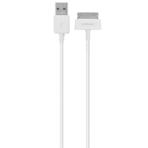 Oryginalny kabel Samsung - ECB-DP4AWE - Data + Charging Cable - 30 Pin to USB - 1m - Biały - Standard USB 2.0