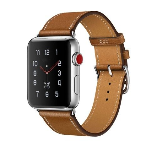 Pasek Tech-Protect Herms Brown do Apple Watch 1/2/3 (38MM)