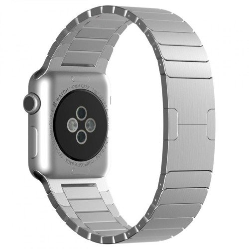 Pasek Tech-Protect LinkBand Silver do Apple Watch 1/2/3 (42MM)