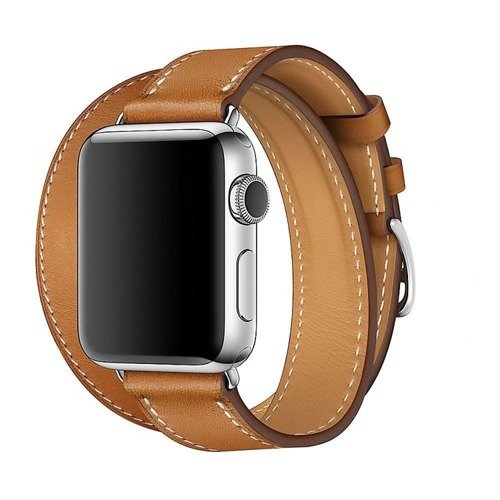Pasek Tech-Protect LongHerms Brown do Apple Watch 1/2/3 (38MM)