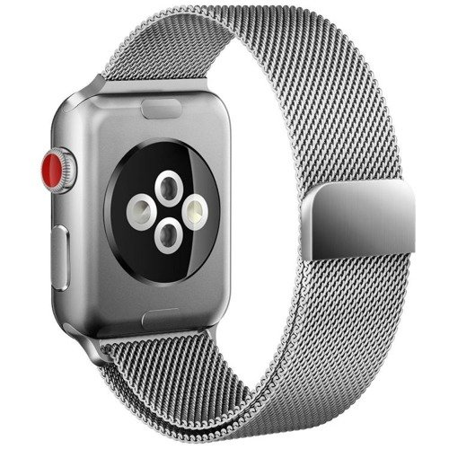 Pasek Tech-Protect MilaneseBand Silver do Apple Watch 1 / 2 / 3 (38mm)