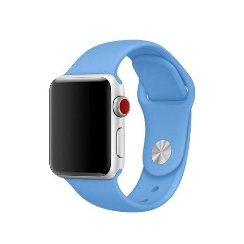 Pasek Tech-Protect Smoothband Denim Blue do Apple Watch 1 / 2 / 3 (38mm)