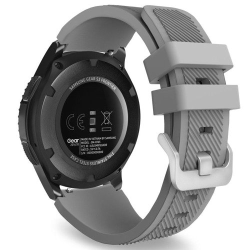 Pasek Tech-Protect Smoothband Gray Samsung Gear S3