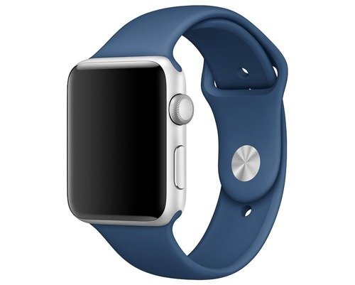 Pasek Tech-Protect Smoothband Midnight Blue do Apple Watch 1 / 2 / 3 (38mm)