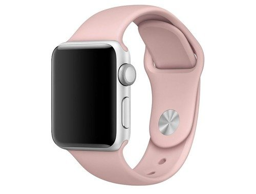 Pasek Tech-Protect Smoothband Pink Sand do Apple Watch 1 / 2 / 3 (38mm)