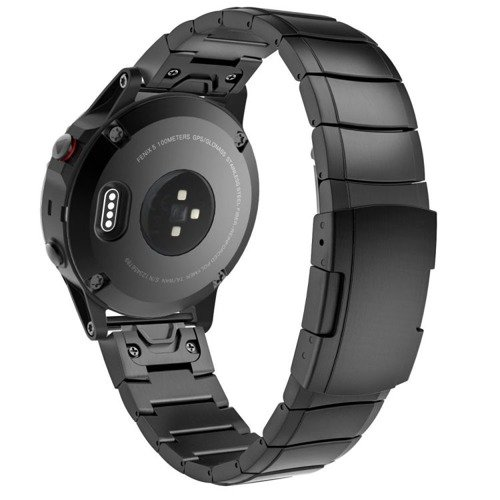 Pasek Tech-Protect SteelBand Black do Garmin Fenix 5 (22MM)