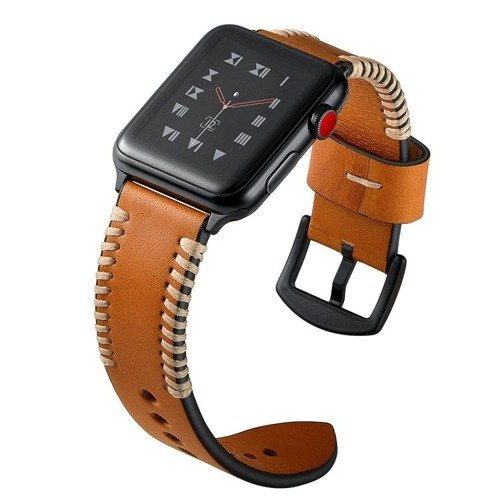 Pasek Tech-Protect StroBand Brown do Apple Watch 1/2/3 (42MM)