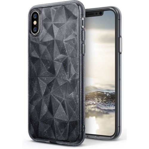 Rearth Ringke Air Prism Glitter Gray  | Obudowa ochronna dla modelu Apple iPhone X / 10