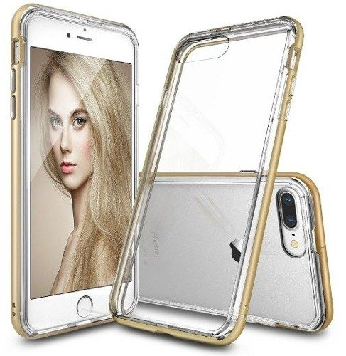 Rearth Ringke Frame Royal Gold | Obudowa + folia ochronna dla modelu Apple iPhone 7 Plus / 8 Plus